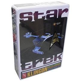 Star Trek - Klingon Battle Cruiser Special Ed. Tin Model Kit