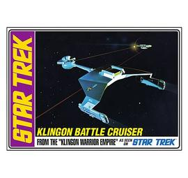 Star Trek - Klingon Battle Cruiser 1:650 Scale Model Kit