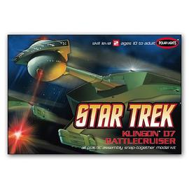 Star Trek - Klingon D7 Battlecruiser 1:1000 Scale Model Kit