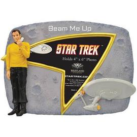 Star Trek - Captain Kirk Beam Me Up Picture Frame