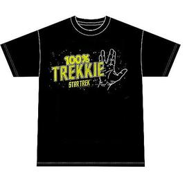 Star Trek - 100% Trekkie T-Shirt