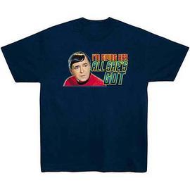 Star Trek - T-Shirt: All She's Got Scotty