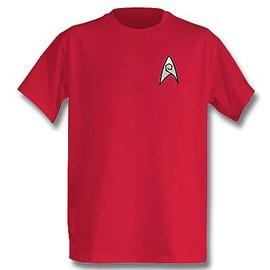 Star Trek - TOS Engineering Officer T-Shirt