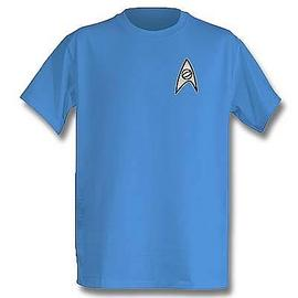 Star Trek - TOS Science Officer T-Shirt