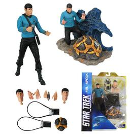 Star Trek - Select Spock Action Figure and Diorama