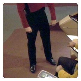 Star Trek - TNG Starfleet Duty Uniform Trouser Pattern
