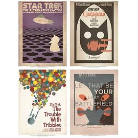 Star Trek - The Original Series Fine Art Posters Set 3