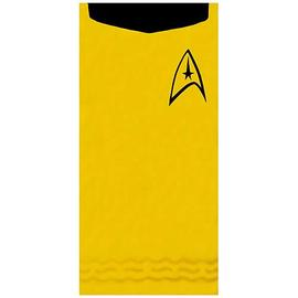 Star Trek - Kirk Gold Cotton Beach Towel