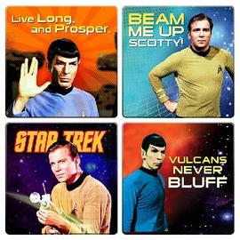 Star Trek - Coaster 4-Pack
