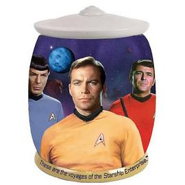 Star Trek - These Are The Voyages Cookie Jar
