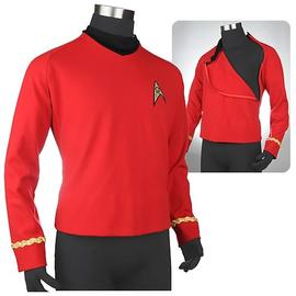 Star Trek - Star Trek: TOS Third Season Ship's Services Red Tunic