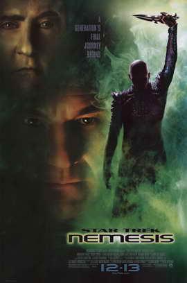 Star Trek: Nemesis - 11 x 17 Movie Poster - Style A