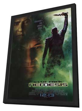 Star Trek: Nemesis - 11 x 17 Movie Poster - Style A - in Deluxe Wood Frame