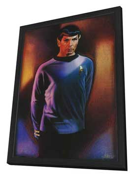 Star Trek Special Edition - 27 x 40 Movie Poster - Style B - in Deluxe Wood Frame