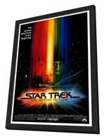 Star Trek: The Motion Picture - 27 x 40 Movie Poster - Style A - in Deluxe Wood Frame