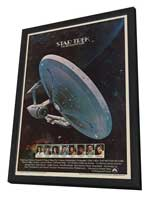 Star Trek: The Motion Picture - 27 x 40 Movie Poster - Style C - in Deluxe Wood Frame