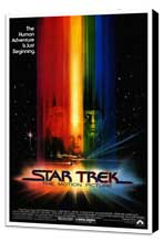 Star Trek: The Motion Picture - 27 x 40 Movie Poster - Style A - Museum Wrapped Canvas