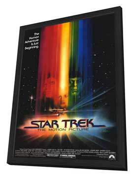 Star Trek: The Motion Picture - 11 x 17 Movie Poster - Style A - in Deluxe Wood Frame