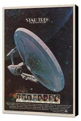 Star Trek: The Motion Picture - 11 x 17 Movie Poster - Style C - Museum Wrapped Canvas