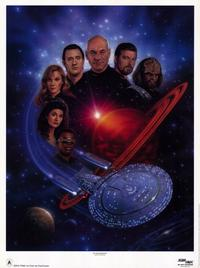 Star Trek: The Next Generation - 11 x 17 TV Poster - Style B