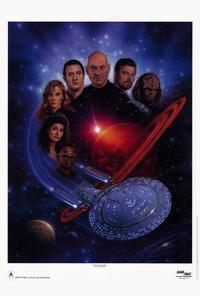 Star Trek: The Next Generation - 27 x 40 TV Poster - Style B