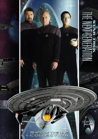 Star Trek: The Next Generation - 11 x 17 TV Poster - Style D