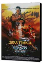 Star Trek: The Wrath of Khan - 27 x 40 Movie Poster - Style C - Museum Wrapped Canvas
