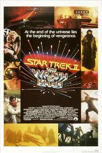 Star Trek: The Wrath of Khan - 11 x 17 Movie Poster - Style B