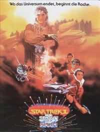 Star Trek: The Wrath of Khan - 11 x 17 Movie Poster - German Style A