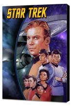 Star Trek (TV) - 11 x 17 TV Poster - Style G - Museum Wrapped Canvas