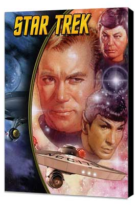 Star Trek (TV) - 11 x 17 TV Poster - Style I - Museum Wrapped Canvas