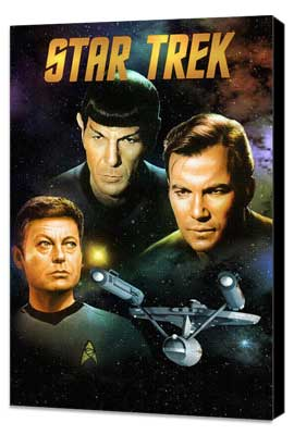Star Trek (TV) - 11 x 17 TV Poster - Style K - Museum Wrapped Canvas