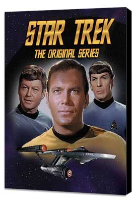 Star Trek (TV) - 27 x 40 TV Poster - Style J - Museum Wrapped Canvas