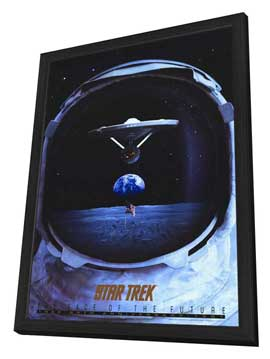 Star Trek TV Series 25th Anniversary - 11 x 17 Movie Poster - Style A - in Deluxe Wood Frame