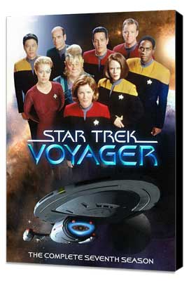Star Trek: Voyager - 27 x 40 TV Poster - Style A - Museum Wrapped Canvas
