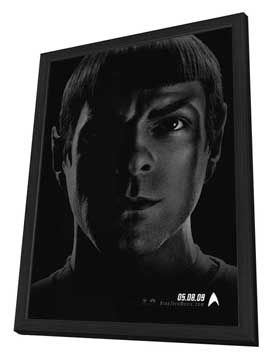 Star Trek XI - 27 x 40 Movie Poster - Style D - in Deluxe Wood Frame