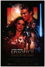 Star Wars: Episode II-Attack of the Clones - Movie Poster - Reproduction - 27 x 40 - Style A