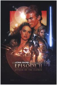 Star Wars: Episode II-Attack of the Clones - 27 x 40 Movie Poster - Style B