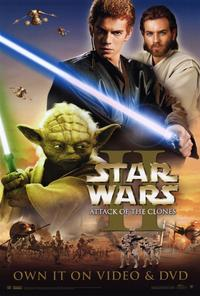 Star Wars: Episode II-Attack of the Clones - 27 x 40 Movie Poster - Style D