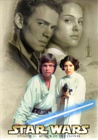 Star Wars: Episode II-Attack of the Clones - 27 x 40 Movie Poster - Style E