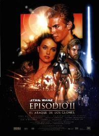 Star Wars: Episode II-Attack of the Clones - 27 x 40 Movie Poster - Spanish Style A