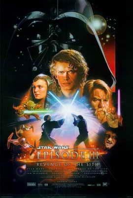 Star Wars: Episode III - Revenge of the Sith - 27 x 40 Movie Poster - Style A
