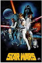 Star Wars - 27 x 40 Movie Poster - Style E