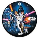 Star Wars - Wood Wall Clock
