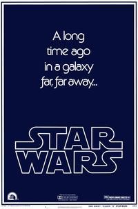 Star Wars - 27 x 40 Movie Poster - Style K