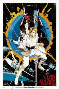 Star Wars - 27 x 40 Movie Poster - Style N