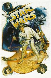 Star Wars - 27 x 40 Movie Poster - Style T