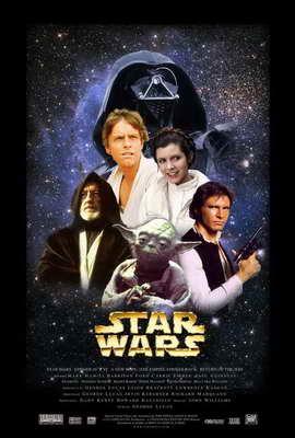 Star Wars - 27 x 40 Movie Poster - Style U