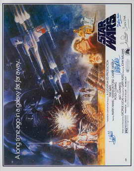 Star Wars - 22 x 28 Movie Poster - Half Sheet Style A