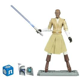 Star Wars - Clone Wars Mace Windu Jedi Master Action Figure